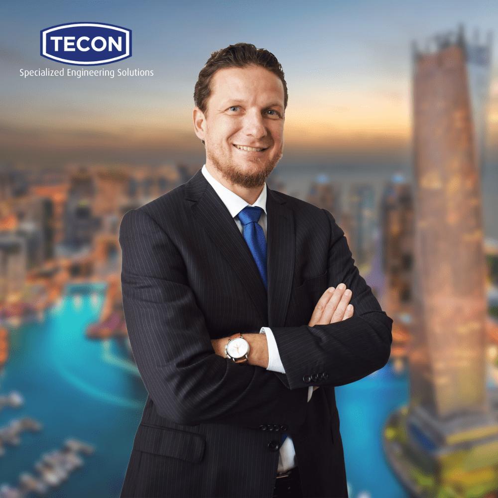 Matthias Kasprowicz, new CEO of Tecon SES